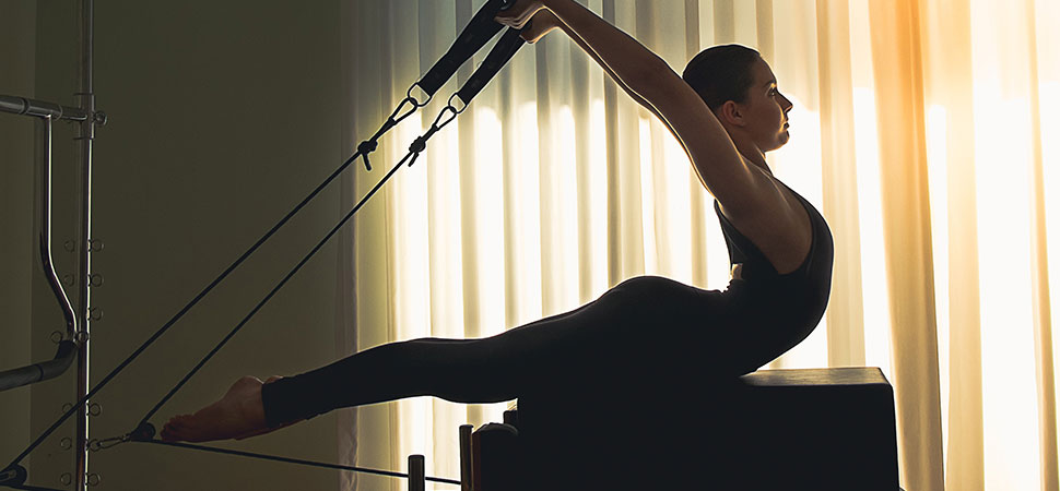 Cours particulier Pilates cadillac femme